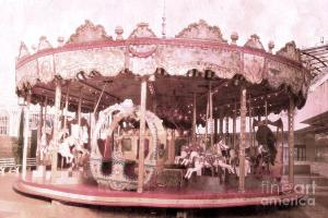 paris-dreamy-pink-carousel-art-photo-kathy-fornal